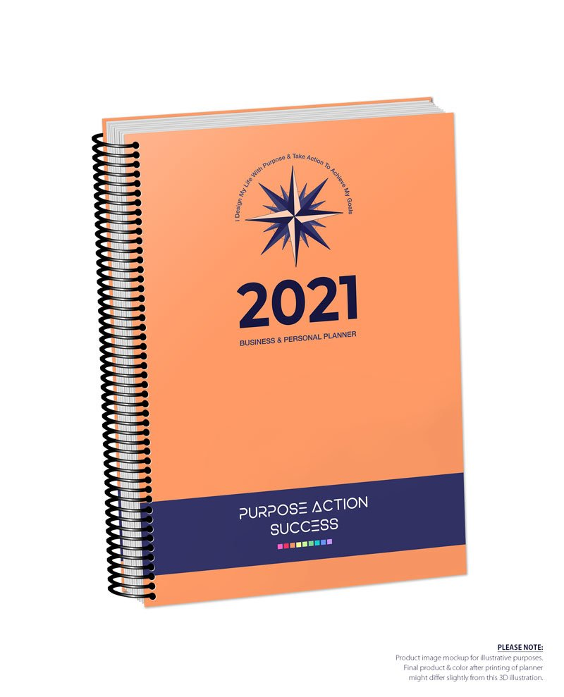 2021 MBS Business & Personal Planner - MBS Orange Color
