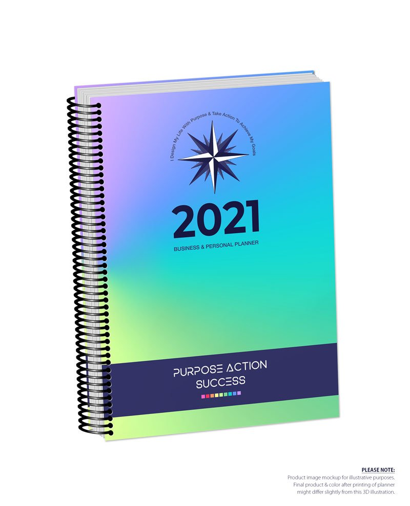 2021 MBS Business & Personal Planner - MBS Multiclor 1 Color