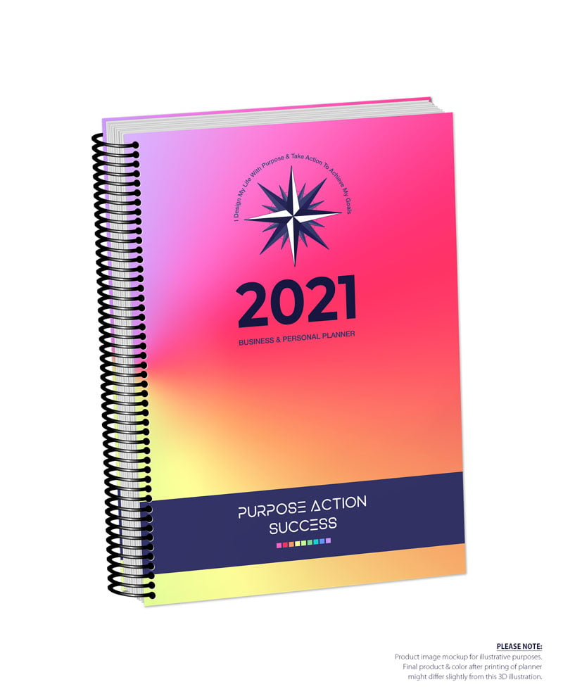 2021 MBS Business & Personal Planner - MBS Multiclor 2 Color