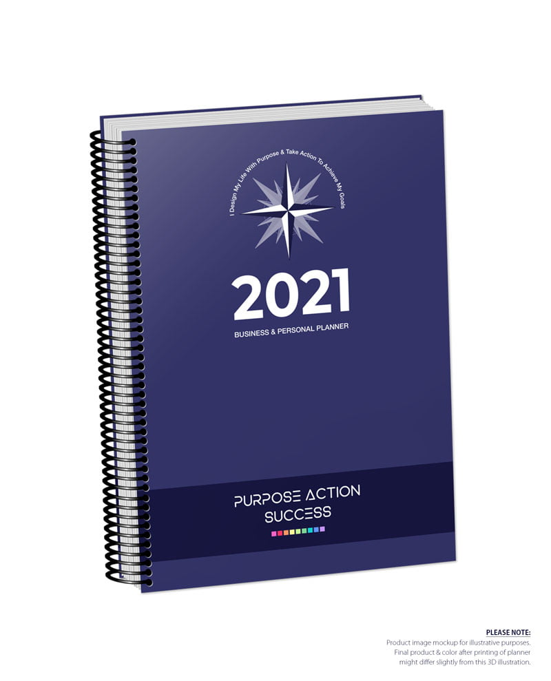 2021 MBS Business & Personal Planner - MBS Navy Blue Color