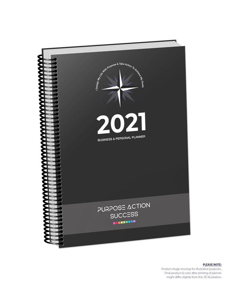 2021 MBS Business & Personal Planner - MBS Text Gray Color