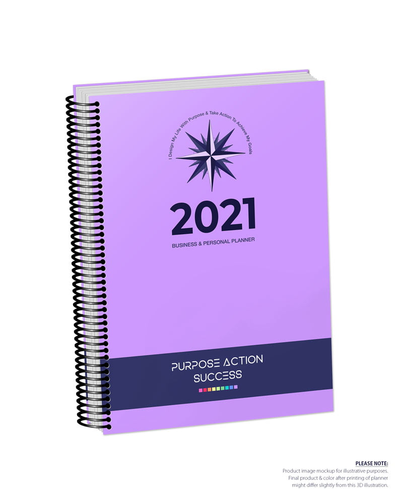 2021 MBS Business & Personal Planner - MBS Purple Color