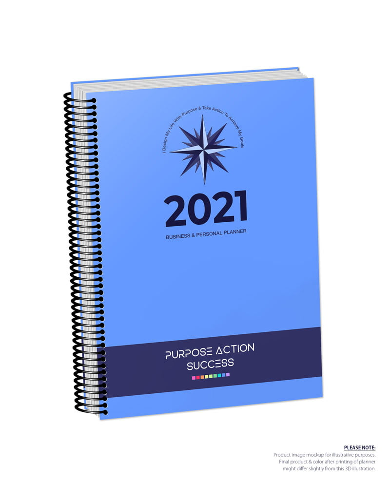 2021 MBS Business & Personal Planner - MBS Blue Color