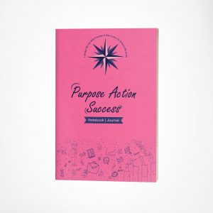 Hot Pink Freelance Notebook PAS_V1 Series (Purpose Action Success Freelance Notebook)